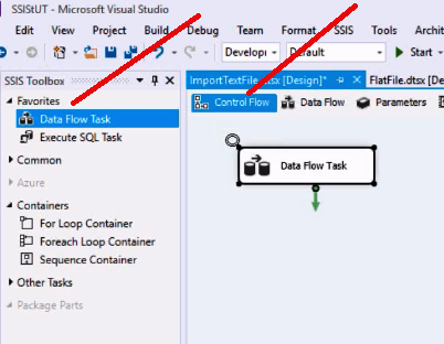 Import Text File in SSIS
